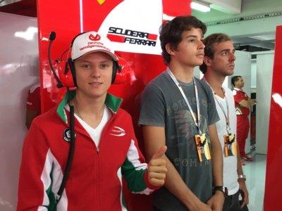 Un Schumacher en el Gran Premio de Alemania de Fórmula 1