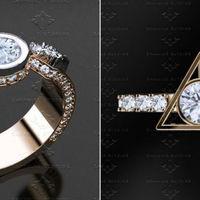 Estos anillos de compromiso inspirados en Harry Potter harán que el día de tu boda sea aún más mágico