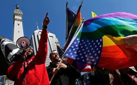 Cómo están luchando las empresas tecnológicas contra la ley que permite discriminar gays en Indiana