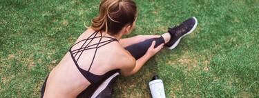 Siete sujetadores deportivos para entrenamientos de bajo, medio y alto impacto