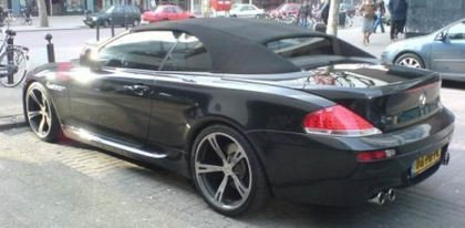 Bmw m6 cabrio for Jet cars bv rotterdam