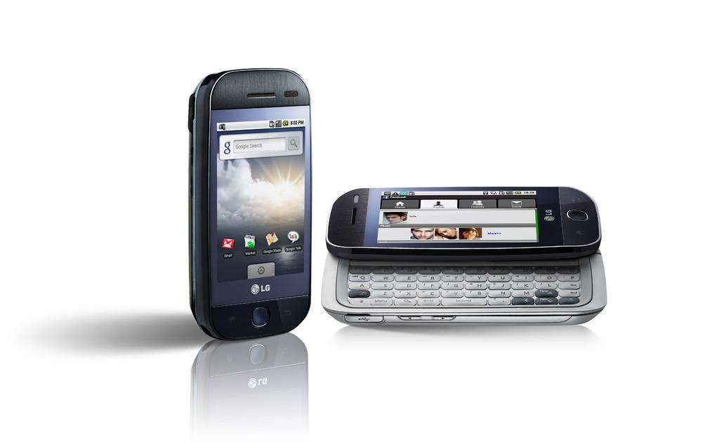 Foto de LG GW620, primer móvil Android de la compañía coreana (1/2)