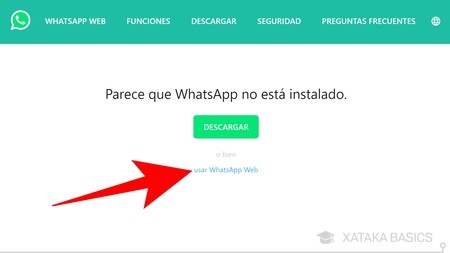 Usar Whatsapp Web