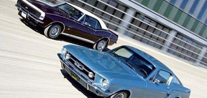Pony Tales: 1967 Ford Mustang GTA 390 vs 1967 Chevrolet Camaro 350SS/RS