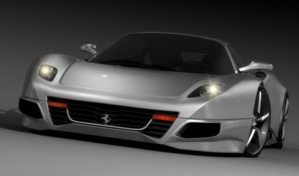 El Ferrari de Idries Omar