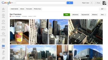 google plus album fotos