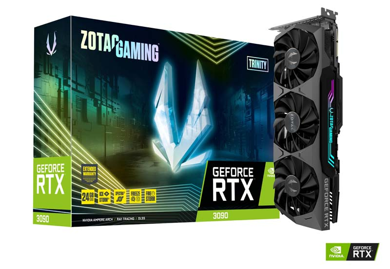 Zotac GAMING GeForce RTX 3090 Trinity 24GB GDDR6X