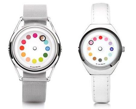 Reloj Cyclops, cada hora un color