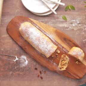 Strudel de manzana o de queso, un clásico (dulce y salado) de la cocina centroeuropea