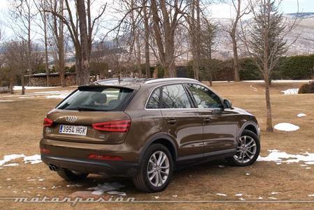 Audi Q3 quattro prueba 04
