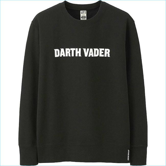 Uniqlo Darth Vader Star Wars Sweatshirt
