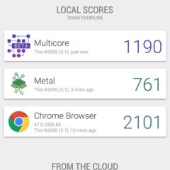 Foto 12 de 14 de la galería benchmarks-oukitel-k6000-mediatek-6535p en Xataka Android
