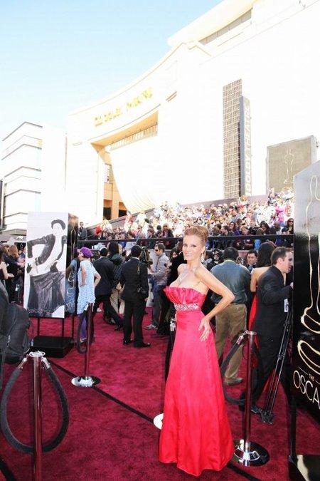 ¿Alguien me explica qué hacía Sonia Monroy en los Oscars 2013?