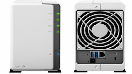 El DiskStation DS213air almacena datos y reparte WiFi por tu casa