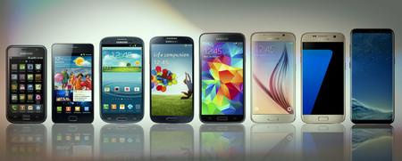 Del Samsung Galaxy S al Samsung Galaxy S8: así ha sido la evolución de los superteléfonos de Samsung