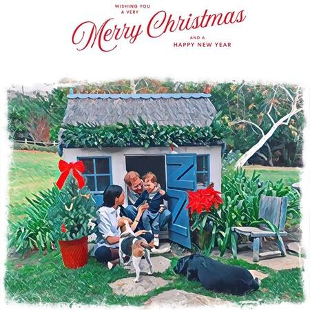 Meghan Markle, el príncipe Harry y el pequeño Archie felicitan la Navidad con una preciosa ilustración