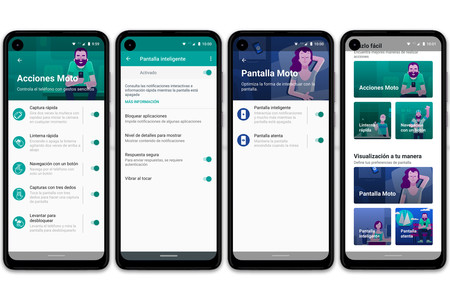 Motorola One Action Acciones