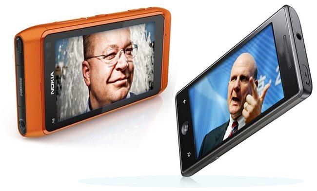 Nokia y Microsoft hablan de teléfonos