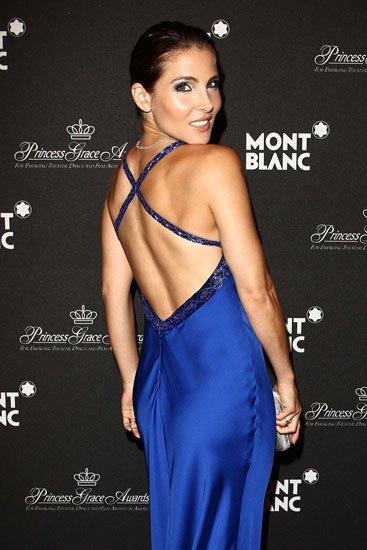 El look de Elsa Pataky como imagen de Montblanc en Mónaco