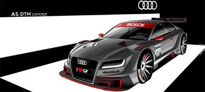 Audi A5 R17 DTM