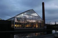 Cenar en un invernadero de Holanda. De Kas
