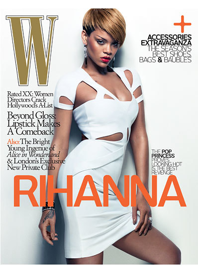 Rihanna en W Magazine