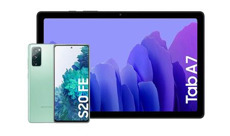 Samsung Galaxy S20 Fe Mas Tablet Galaxy Tab A7