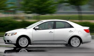 El Kia Forte Hybrid sale a la venta en Corea