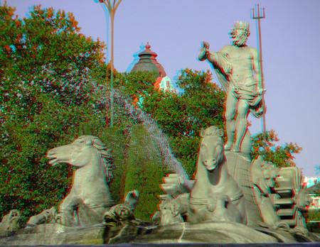 plaza de neptuno 3d