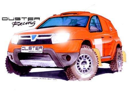 Curiosidades en Competición: Un Dacia Duster para el Campeonato de España de Rallyes Todo Terreno