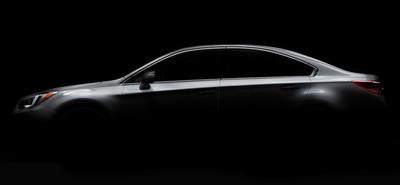 2015 Subaru Legacy, novedad en el Salón de Chicago