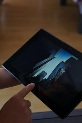 derecha tablet