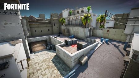 El mítico mapa Dust 2 de Counter Strike se cuela en Fortnite gracias a los fans y luce espectacular