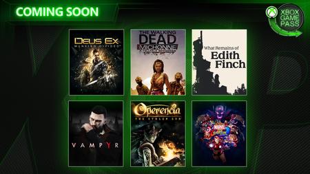 Xbox Game Pass sumará Marvel vs. Capcom Infinite, What Remains of Edith Finch, Vampyr y tres juegos más antes de abril
