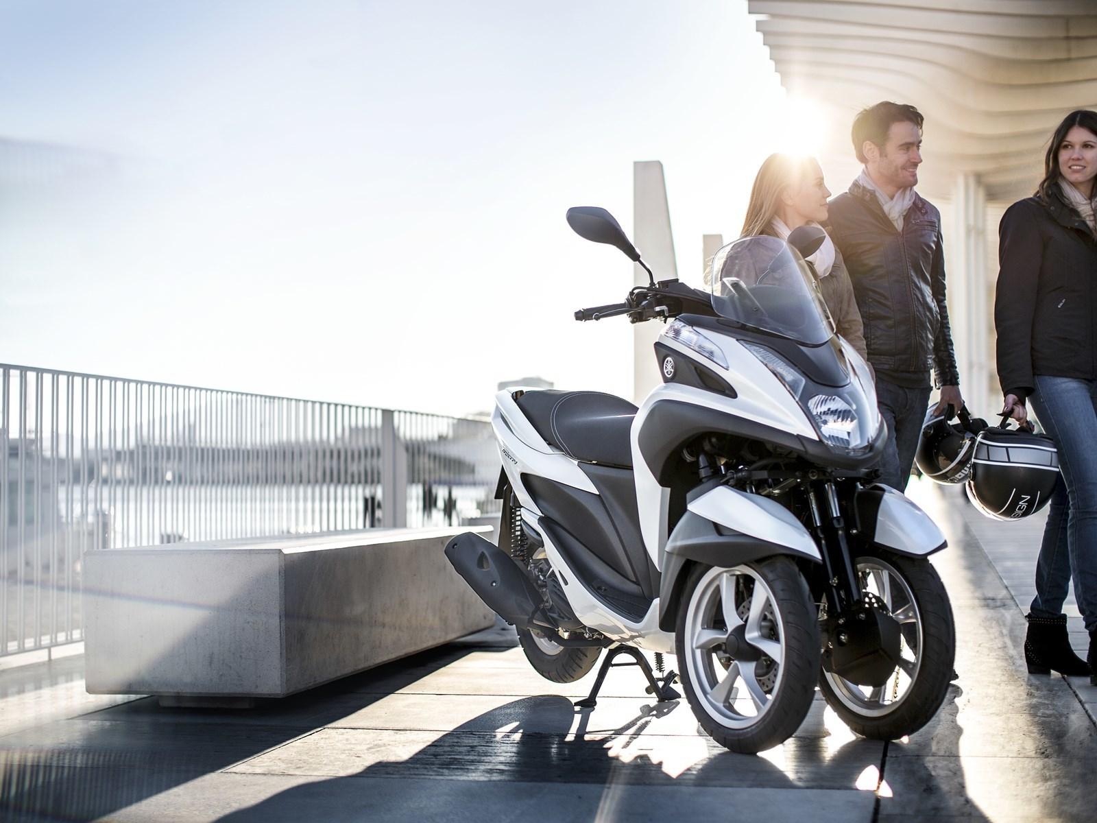 Foto de Yamaha Tricity 125 cc acción (10/21)