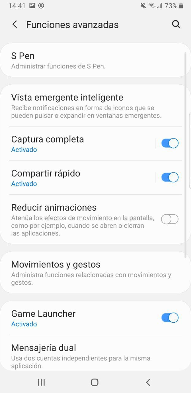Foto de Android 9 Pie con One UI en el Samsung Galaxy Note 9 (18/34)