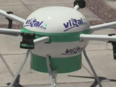 El primer dron capaz de salvar vidas es argentino