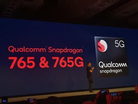 Snapdragon 765 765g Chipsets Gama Media Alta 5g
