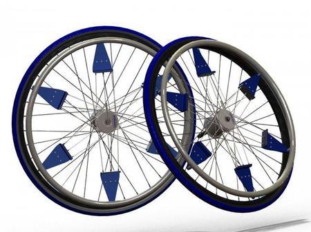 IntelliWheels, cambio de marchas automático para las sillas de ruedas