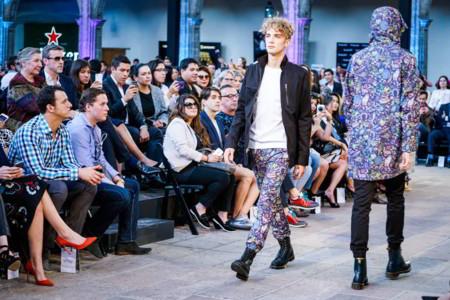 Pineda Covalín inaugura la semana de la moda en México con urbanismo y color