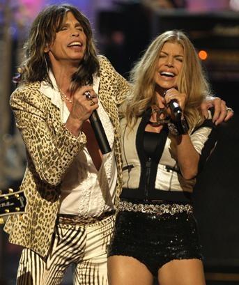 El look de Fergie en Fashion Rocks 2007