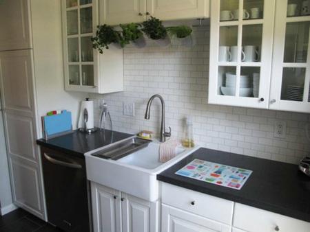 Espacios que inspiran: una cocina de 7 metros cuadrados