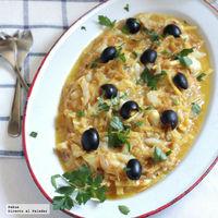 Bacalao dorado o bacalhau à Brás, una receta portuguesa para Semana Santa