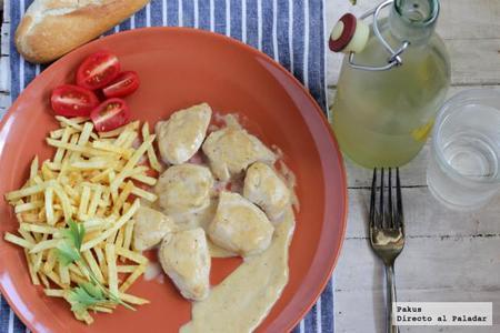 Tacos de pollo en salsa de pimienta casera. Receta
