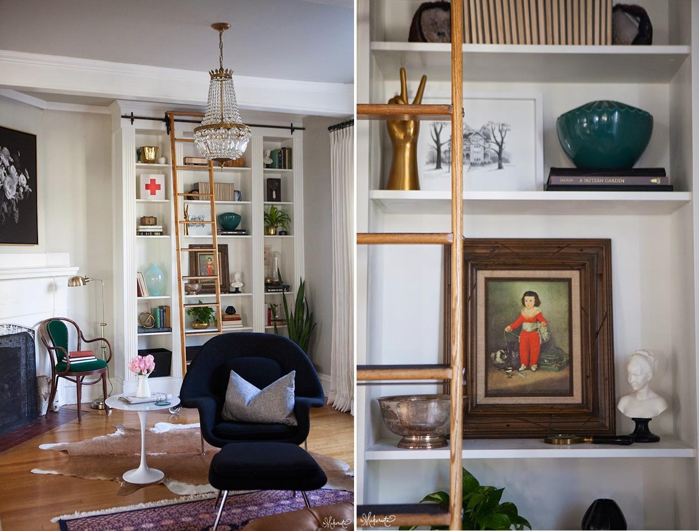 Tres ideas deluxe para tus estanter as de ikea - Estanterias de obra para salon ...