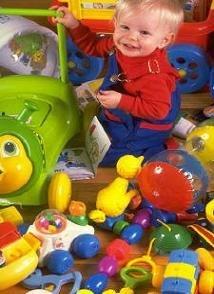 Recoger los juguetes también es cosa de niños