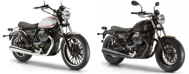 Moto Guzzi V9 Roamer y V9 Bobber, dos nuevas italianas a la moda con mucho estilo