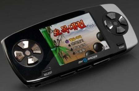 MyRacer, consola portátil de juegos flash
