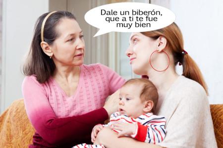 Qué pena que la mayoría de nuestras madres no puedan ayudar con los problemas de lactancia