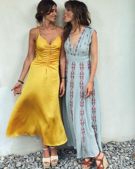 Sara Carbonero e Isabel Jiménez nos dejan dos looks ideales para ser la invitada perfecta